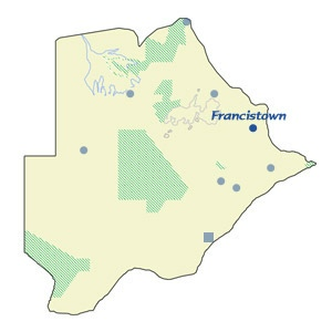 Francistown Map